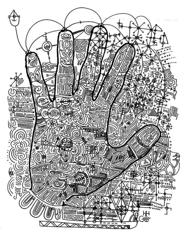 Art of Sutra Drawing - Niki Adnyani 2005